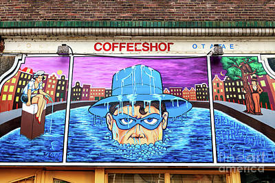 Photograph - Spirit Mural In Amsterdam by John Rizzuto