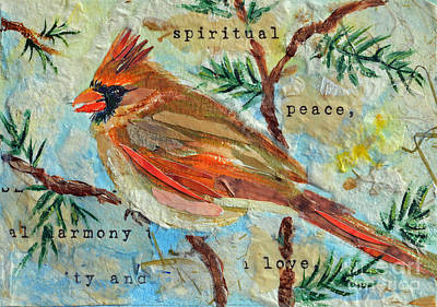 Mixed Media - Spirit Of The Season by Li Newton
