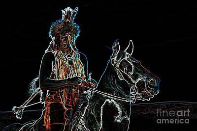 Photograph - Spirit Warrior by Jim Garrison