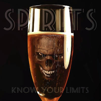 Digital Art - Spirits - Know Your Limits by ISAW Company