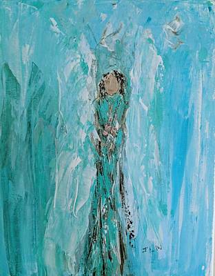 Painting - Spiritual Angel  by Jennifer Nease