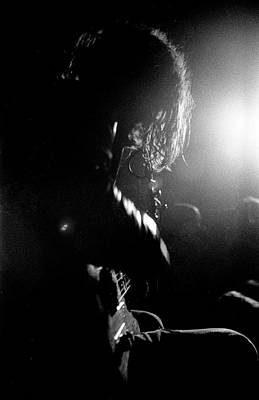 Photograph - Spiritualized Glasgow 1991 by Martyn Goodacre
