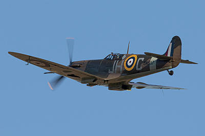 Ethereal - Spitfire BM597 by Airpower Art