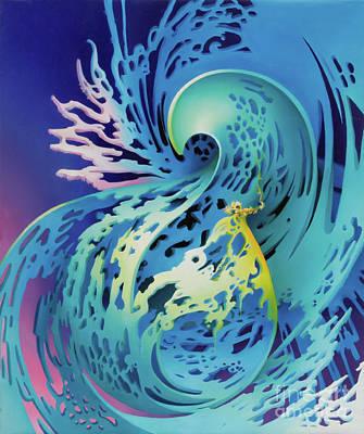 Painting - Splash by Symona Colina