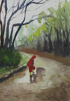 Painting - Splashing by John Holdway