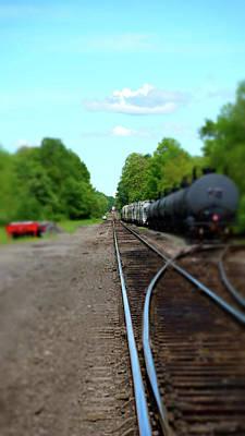 Photograph - Split Rail by Cj Mainor