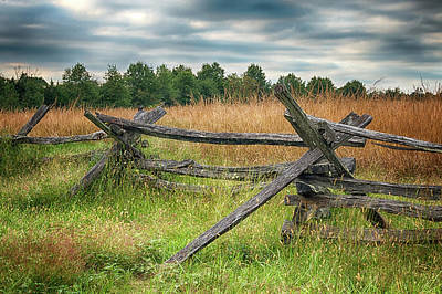 Photograph - Split-rail Fence by Travis Rogers