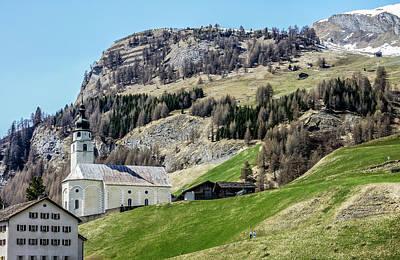 Photograph - Splugen View 1, Switzerland by Dawn Richards