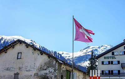 Photograph - Splugen View 2, Switzerland by Dawn Richards