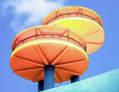 Photograph - Spock's Observation Decks by Robert FERD Frank