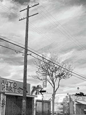 Photograph - Spooky Auto Parts by Hold Still Photography