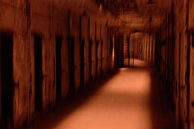 Photograph - Spooky Old Prison Cells by Paul W Faust - Impressions of Light