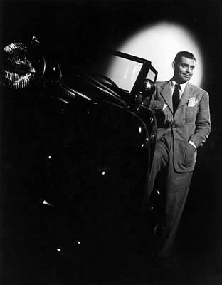 Photograph - Spotlight On Clark by Hulton Archive
