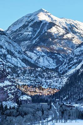 Spotlight On Ouray Art Print