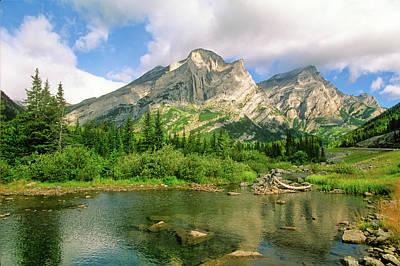 Photograph - Spray Valley Provincial Park, Alberta by Barrett & Mackay