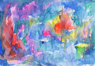 Painting - Spring Abstraction by Dobrotsvet Art