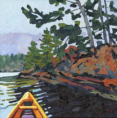 Painting - Spring At Pine Island by Phil Chadwick