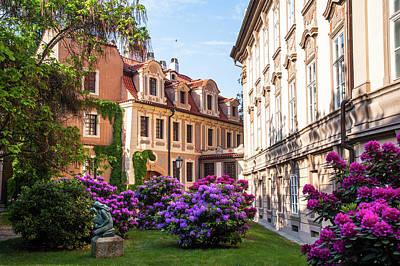 Photograph - Spring Blooms In Kolowrat Garden Prague 13 by Jenny Rainbow