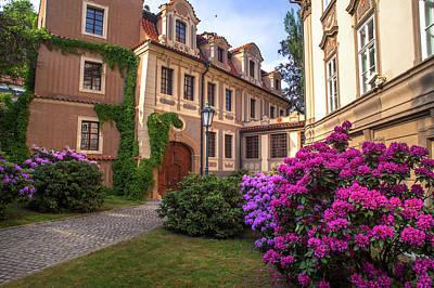 Photograph - Spring Blooms In Kolowrat Garden Prague 3 by Jenny Rainbow