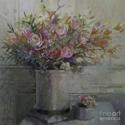 Painting - Spring Bouquet by Mary Hubley