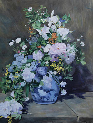 Painting - Spring Bouquet - Original Size 1 by Masami IIDA