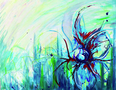 Painting - Spring Breeze by Shuanteya Sherman