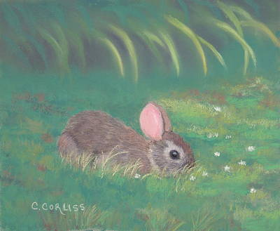 Pastel - Spring Clover by Carol Corliss