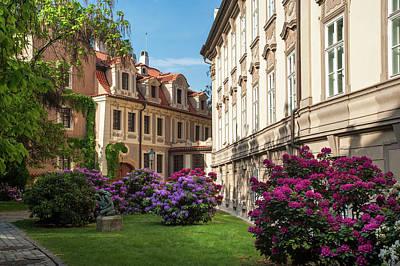 Photograph - Spring Blooms In Kolowrat Garden Prague by Jenny Rainbow