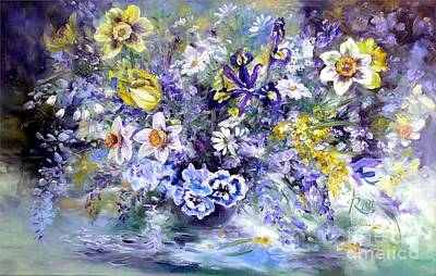 Painting - Spring In The Artist's Garden by Ryn Shell