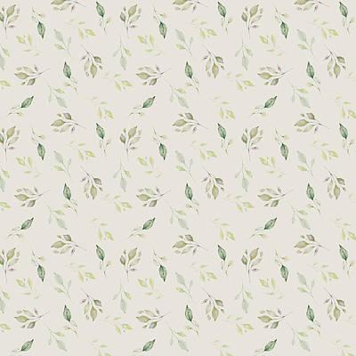 Wall Art - Mixed Media - Spring Leaf Pattern by Amanda Lakey