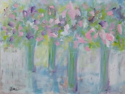 Painting - Spring Line-up by Terri Einer