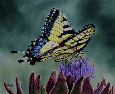 Painting - Spring Nectar by Jan Priddy