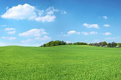 Photograph - Spring Panorama 46mpix Xxxxl - Meadow by Hadynyah