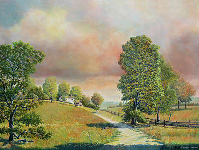 Painting - Spring Path by Douglas Castleman