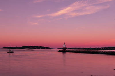 Photograph - Spring Point Light by Bob Doucette