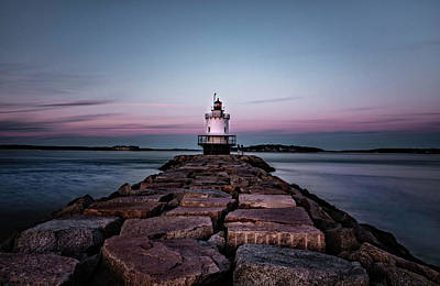 Photograph - Spring Point Lighthouse by Gary Shepard