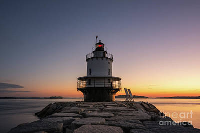 Photograph - Spring Point Lighthouse  by Michael Ver Sprill
