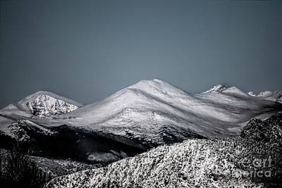 Photograph - Spring Snow On The Mountains by Jon Burch Photography