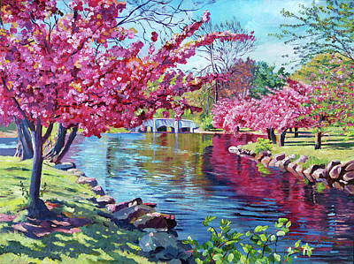 Painting - Spring Soliloquy by David Lloyd Glover
