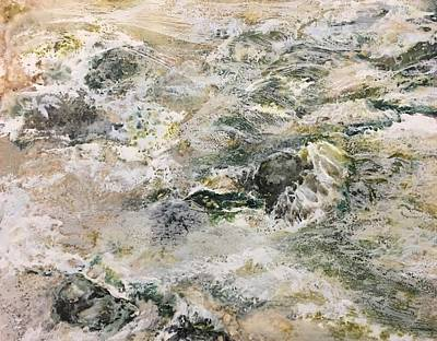 Mixed Media - Spring Thaw by Anne Stine