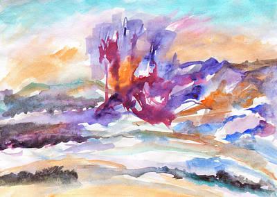 Painting - Spring Thaw by Irina Dobrotsvet