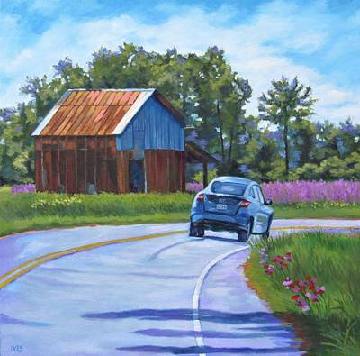 Painting - Spring Time in Northern Pitt County by Rebecca Ives