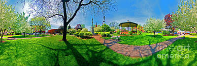 Photograph - Spring Time In Wood Stock Square 360 Pan  by Tom Jelen