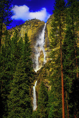 Photograph - Spring Yosemite Falls by Garry Gay