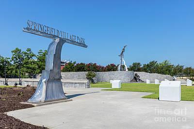 Photograph - Springfield Village Park - Augusta Ga by Sanjeev Singhal
