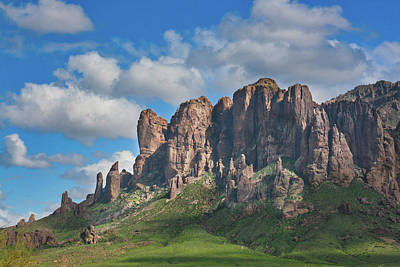 Photograph - Springtime In The Superstition Mountains by Kevin Schwalbe