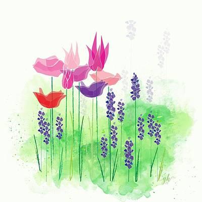 Digital Art - Springy by Gina Harrison