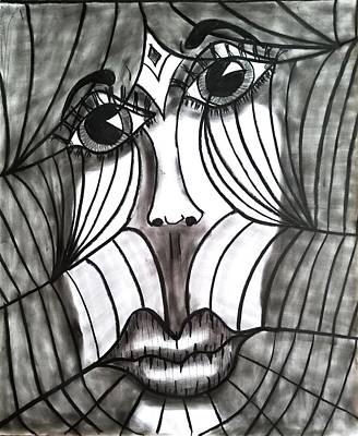 Wall Art - Drawing - Spyder by William Erickson
