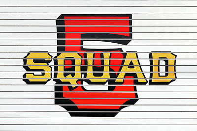 Photograph - Squad 5 by Todd Klassy