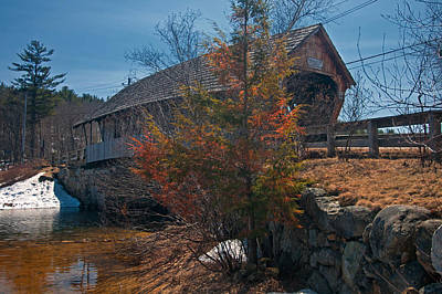 Photograph - Squam River Bridge by Paul Mangold